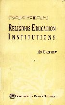 Pakistan Religious Education Institutions: An Overview
