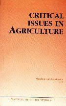 Critical Issues in Agriculture By Mohibul Haq (Ed.)