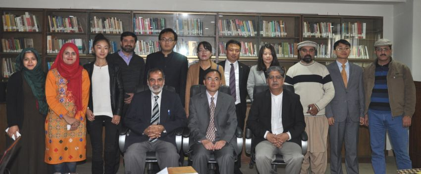 Delegation from Institute of South Asian Studies