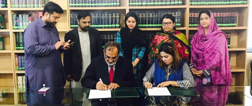 MoU with BU Dept of Law